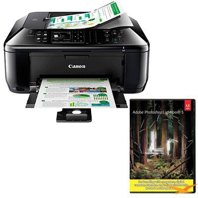 PIXMA MX522 Wireless Inkjet Office All-In-One Printer w/ Photoshop Lightroom 5