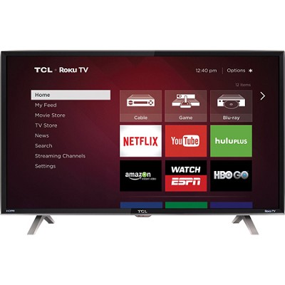 40FS3850 - 40-Inch HD 1080p 120Hz LED Roku Smart TV Decorator Series