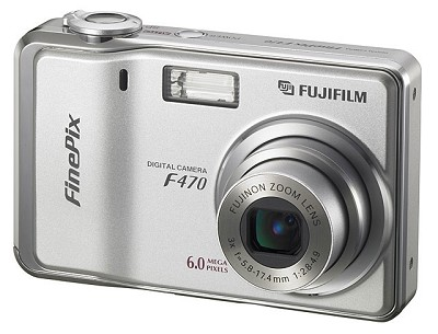 Finepix F470 Digital Camera