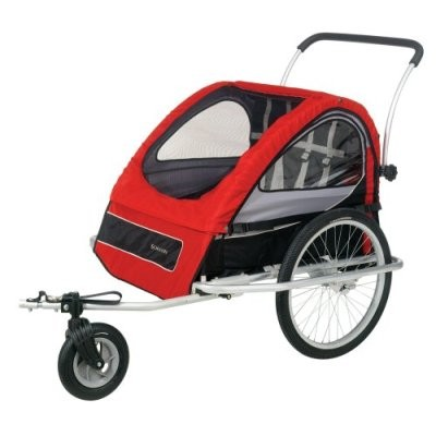 Mark II Bike Trailer (Red)