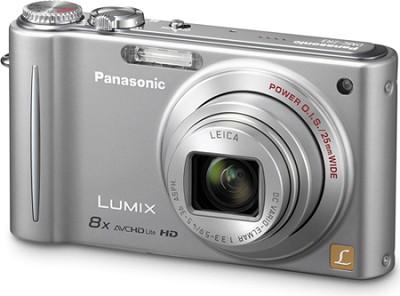 DMC-ZR3S LUMIX 14.1 MP Digital Camera with 10x Intelligent Zoom (Silver)