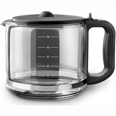 Glass Carafe for Calphalon Quick Brew 12 Cup Coffee Maker - 1809370