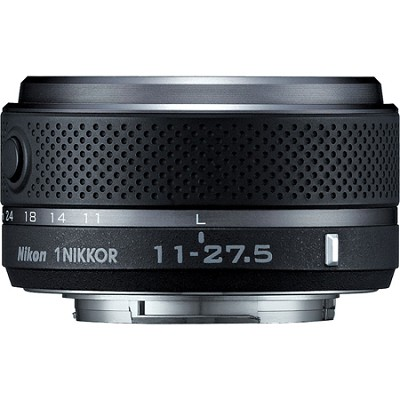 1 NIKKOR 11-27.5mm f/3.5 - 5.6 Lens (Black) (3322) - Factory Refurbished