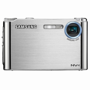 NV4 8MP 2.5` LCD Digital Camera (Silver)