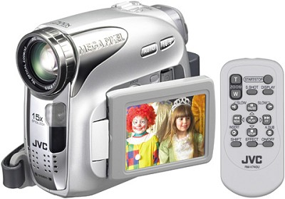GR-D650US Mini DV Camcorder, 15x Optical Zoom, 2.5` LCD