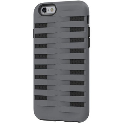 Cobra Apple iPhone 6 Silicone Dual Protective Case - Black/Grey