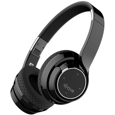 Wave Bluetooth Wireless On-Ear Headphones with Headset Functionality