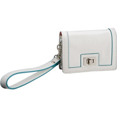 Fashion Clutch Leatherette Case (White)