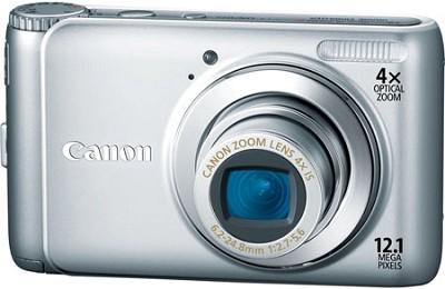 PowerShot A3100IS 12MP Digital Camera (Silver)Factory Refurbished