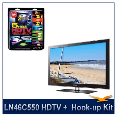 LN46C550 - 46` HDTV + High-performance HDTV Hook-up & Maintenance Kit