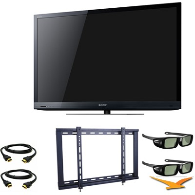 KDL55HX729 55` Class Widescreen 3D LED HDTV 3D Bundle