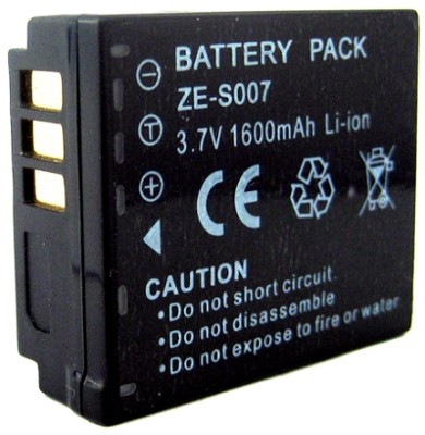 CGA-S007 / DMW-BCD10 1600mAh Battery for Panasonic DMC-TZ1, TZ3. TZ4, TZ5 etc