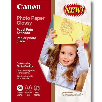 Canon Glossy Photo Paper 8.5x11 in 50 Sheets - 0775B023
