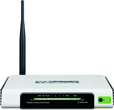 Nework Device TL-WR741ND 150Mbps 2.4GHz 802.11b/g/n Wireless N Router - OPEN BOX