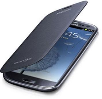EFC-1G6FBEGSTA Flip Cover for Samsung Galaxy S III - Pebble Blue