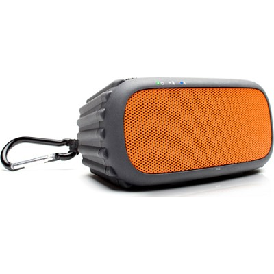 ECOROX Rugged and Waterproof Wireless Bluetooth Speaker - Orange