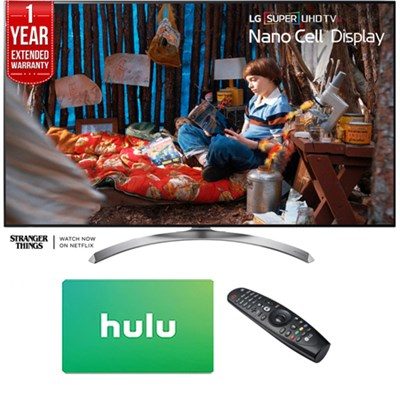 SUPER UHD 65 LED TV 2017 w/ $100 Hulu Card+1 Year Extended Warranty