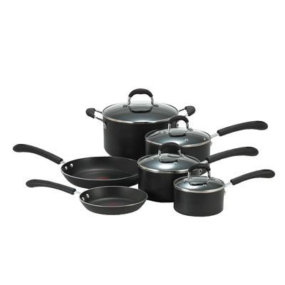 10-Piece Professional Thermo-Spot Heat Indicator Cookware Set - E938SA94