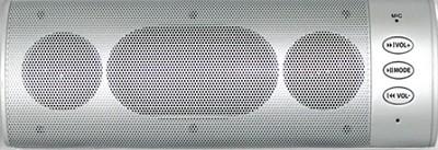 Wireless Bluetooth Stereo Speaker (Silver)