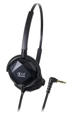ATH-FW33 FashionFidelity BIJOUE On-ear Headphones, Black
