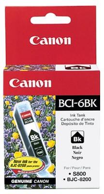Black BCI-6BK Removable Ink Tank f/ S9000/i9100/i860/i960 Printers