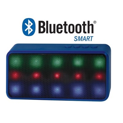 Prysm Wireless Bluetooth Speaker with Dazzling LED Lights - Blue