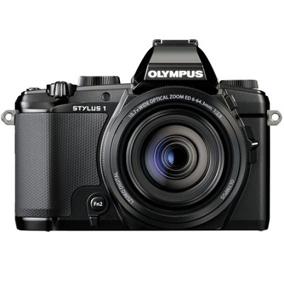 Stylus-1 12MP Digital Camera - Black