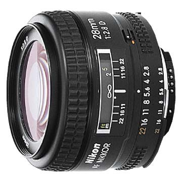 28mm F/2.8D  AF Lens - OPEN BOX