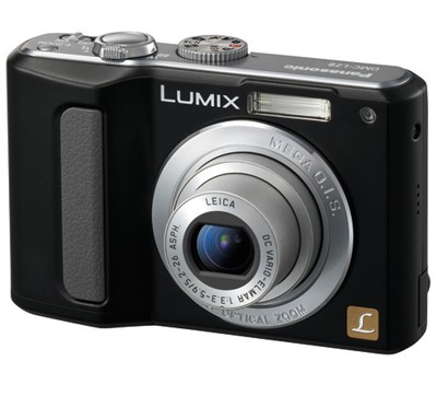 DMC-LZ8 (Black) Lumix 8M Digital Camera w/ 5x Optical Zoom & 2.5` LCD - OPEN BOX