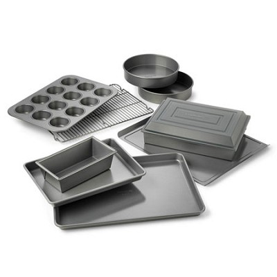 10-pc. Nonstick Dishwasher Safe Bakeware Set - 1870839