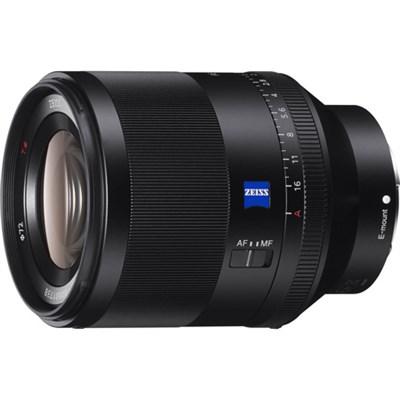 SEL50F14Z Zeiss Prime Full-Frame Planar T* FE 50mm F1.4 ZA E-Mount Lens