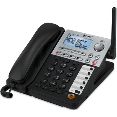 SynJ 4-line Cordless Deskset Component of SynJ Business Phone System - SB67148