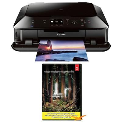 PIXMA MG6420 Wireless Color Photo Printer/Scanner/Copier - Black w/ Photoshop
