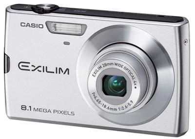 Exilim Z150 8.1 Megapixel Camera (Silver)
