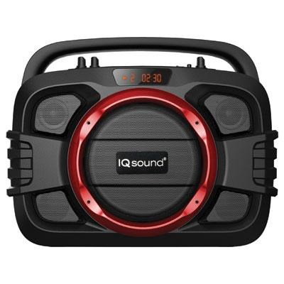 Bluetooth Wireless SoundBox?in Red - IQ-2400BTRD