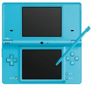 DSi Portable Gaming Console Blue