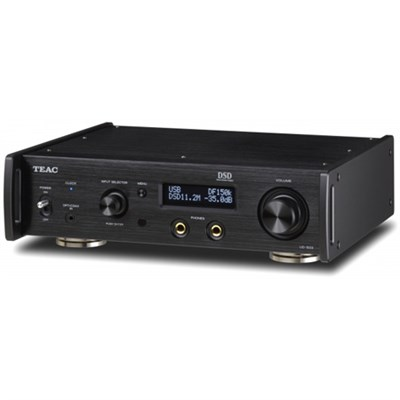 UD-503-B Dual-Monaural USB DAC with Headphone Amplifier (Black)