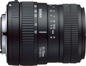 55-200mm f/4-5.6 DC Zoom Lens for Nikon  Digital SLR