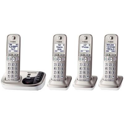 KXTGD224N Dect 6.0 4 Digital Cordless Handset