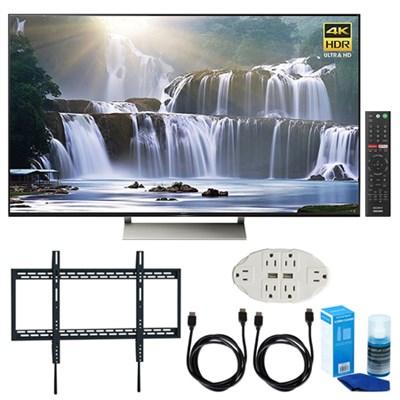 65-inch 4K HDR Ultra HD Smart LED TV (2017 Model) w/ TV Mount Bundle