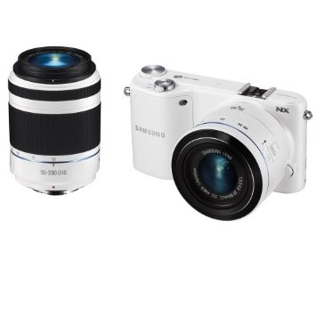NX2000 20.3MP Mirrorless Smart Digital Camera with 20-50mm And 50-200 Lenses