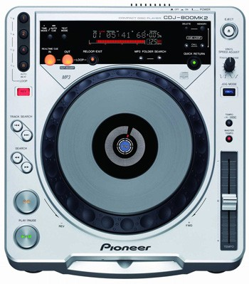 CDJ-800MK2 Professional CD/MP3 Digital Vinyl Turntable OPEN BOX