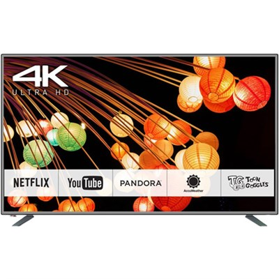 65-Inch 4K Ultra HD Smart TV CX420 Series (Silver) - TC-65CX420U