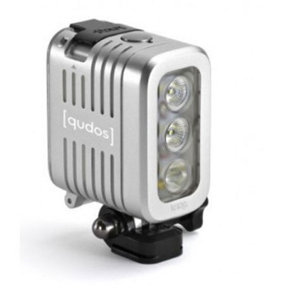 Qudos Action Video Light for GoPro (Silver) - 11626