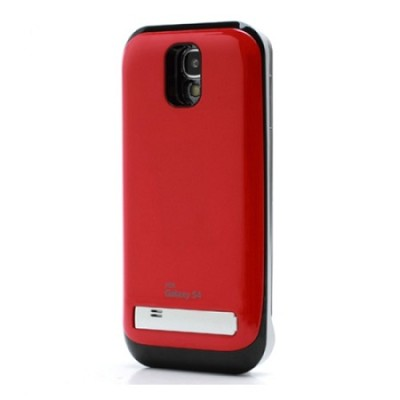 Battery Case for Galaxy S4 - Red