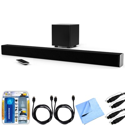 SB3831-D0 SmartCast 38` 3.1 Sound Bar System w/ Essential Accessory Bundle