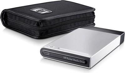 Pocket Media Drive 320 GB USB 2.0 Portable External Hard Drive With Case