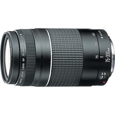 EF 75-300mm  F4-5.6 III Lens with Canon USA Warranty
