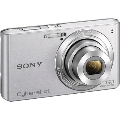 Cyber-shot DSC-W610 Silver 14.1 MP Compact Digital Camera