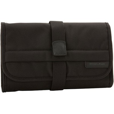 118-4 Baseline 10.8` Compact Toiletry Kit - Black